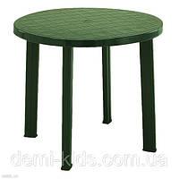 Стол Tondo зеленый D90