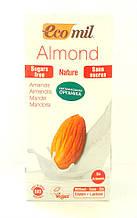 Молоко органическое растительное из миндаля без сахара Ecomil 1 литр
