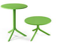 Стол пластиковый круглый Spritz + Spritz Mini зеленый