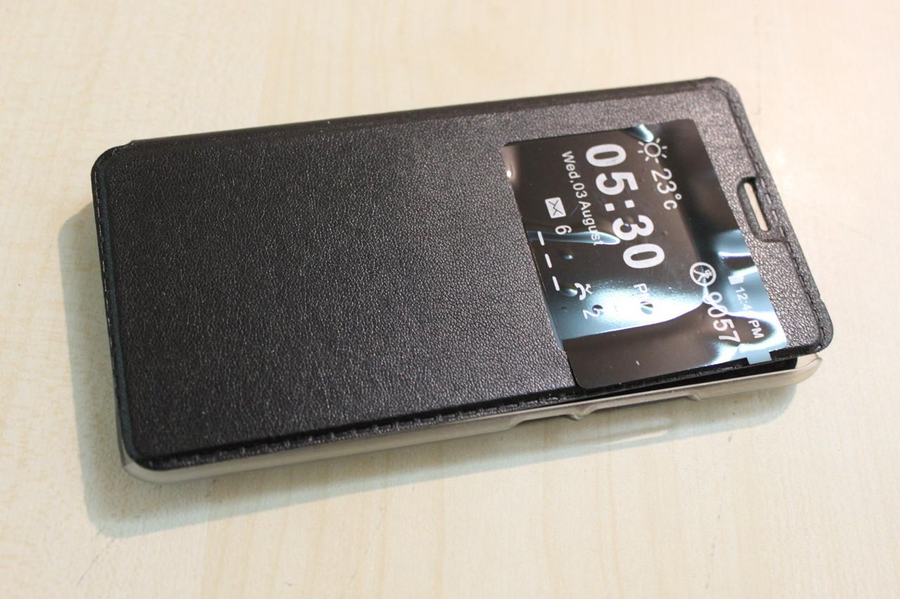 Кожаный чехол для Meizu M5 mini - минимальный заказ 3 шт!