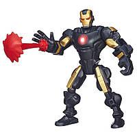 Акция! Фигурка-конструктор Железный Человек в броне №40 - Iron Man, Marvel, Mashers, Hasbro