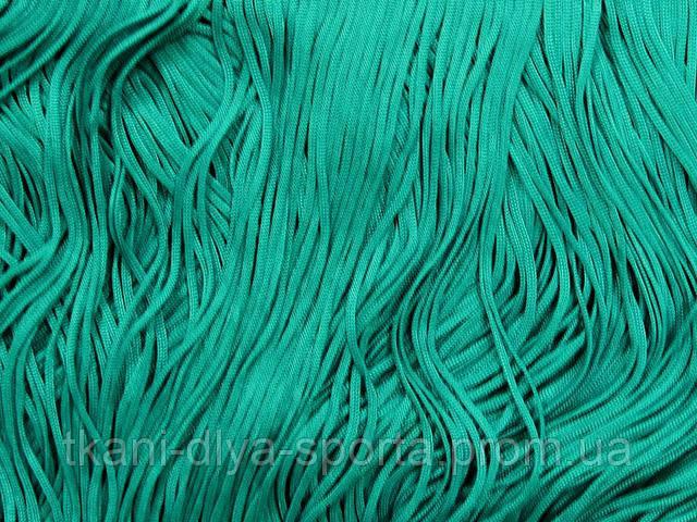Бахрома стрейч Chrisanne морская волна 15 см (jade)