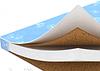 Матрасик ортопедический в кроватку: кокосовая койра (2 слоя) +паралон