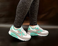 Женские подростковые кроссовки Nike Air Max  бирюза