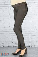 Лосины для беременных джинс трикотаж
