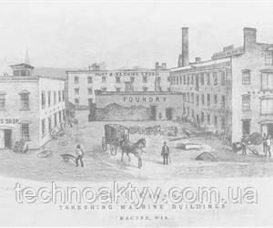 1850-60р  Доля рынка обеих компаний выросла, Маккормик добавляет новые функции жатке, а компания Case диверсифицирует источники питания молотилки.