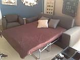 Раскладной серый диван MANHATTAN 250 см ALBERTA (Италия) бесплатная доставка, фото 5