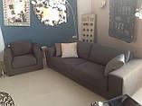 Раскладной серый диван MANHATTAN 250 см ALBERTA (Италия) бесплатная доставка, фото 6