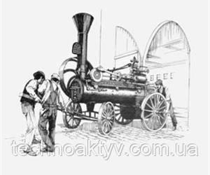 1869  Компания J.I. Case and Company производит первый трактор с паровым двигателем. Трактор установлен на колеса, но все еще приводится в движение лошадьми и используется для приведения в действие других машин.