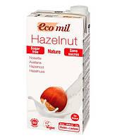 Молоко органическое растительное из фундука без сахара Ecomil 1 литр