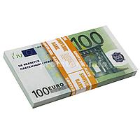 """Сувенирные деньги """"100€ сувенирный"""" пачка 80 купюр"""