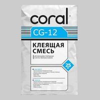 КОРАЛЛ СG-12 Клей для плитки 25 кг