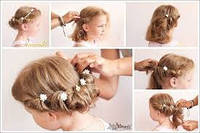 Крабики для волос детские