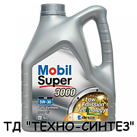 Моторное масло MOBIL SUPER 3000 XE 5W-30 (4л)