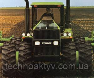 1986  Steiger присоединяется к развивающемуся проекту Case IH. В 1988 году запущено производство красных тракторов Case IH Steiger серии 9100, а производство зеленых тракторов Steiger продолжалось до 1989 года.