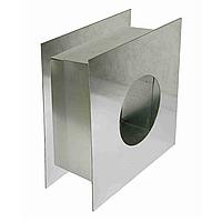 Проход перекрытия 230 мм из нержавеющей стали для трубы дымохода «Версия Люкс»