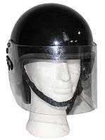 Шлем полиции Великобритании с забралом, б/у