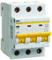 Трехполюсный автоматический выключатель ВА47-29 3P 1A 4,5кА IEK