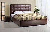 Кровать двуспальная Лугано  2К с пуговицами на изголовье 160х200