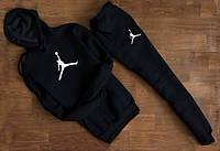 Спортивный костюм Jordan черный, для спортсменов ф4671