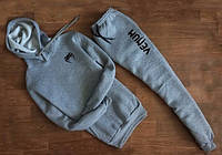 Спортивный костюм Venum серый кенгуру, ф4694