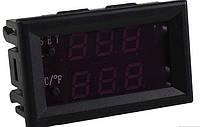 Электронный термостат регулятор температуры с датчиком -50 - 110℃ 12В для инкубаторов, термошкафов