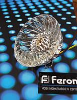 Точечный светильник Feron JD85 G9 прозрачный