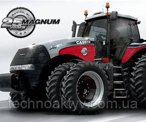 2012  Case IH отмечает 25-летний юбилей трактора Magnum.