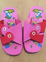 Шлепанцы детские розовые 27-36 размер