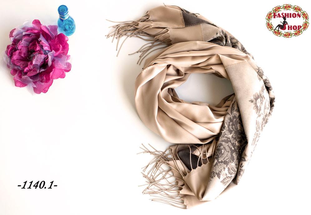 Стильный двухсторонний шарф Мира