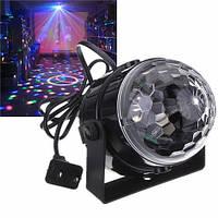 Светодиодный диско шар Led Party Light (проектор для дискотеки)