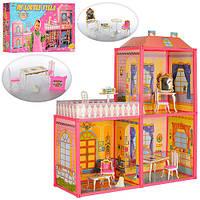 Домик для Барби, 3  комнаты и терраса