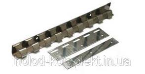 Пластины 200 мм. оцинковка для ПВХ завес