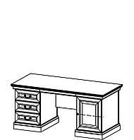 BARCELONA Классический письменный стол с дерева BA-d Taranko