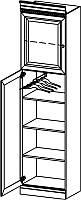 BARCELONA Классический распашной Шкаф с дерева  в спальню BA-12 L/P Taranko