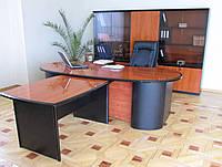 Офисный набор Стар (модульный) орех, кальвадос