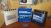 Аккумулятор для мотоцикла гелевый  EXIDE YTX16-BS  14Ah 150x87x161