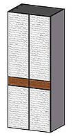 CONTI Классический распашной Шкаф с дерева  в спальню 2-дверный CO-2D Taranko
