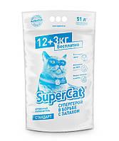 SUPER CAT стандарт 12+3кг в  экономичной упаковке