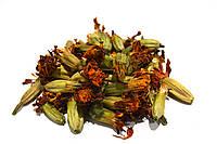 Чернобривцы цветки 100 грамм (бархатцы)