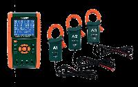 Комплект анализатора качества электроэнергии/регистрации данных Extech PQ3450-12