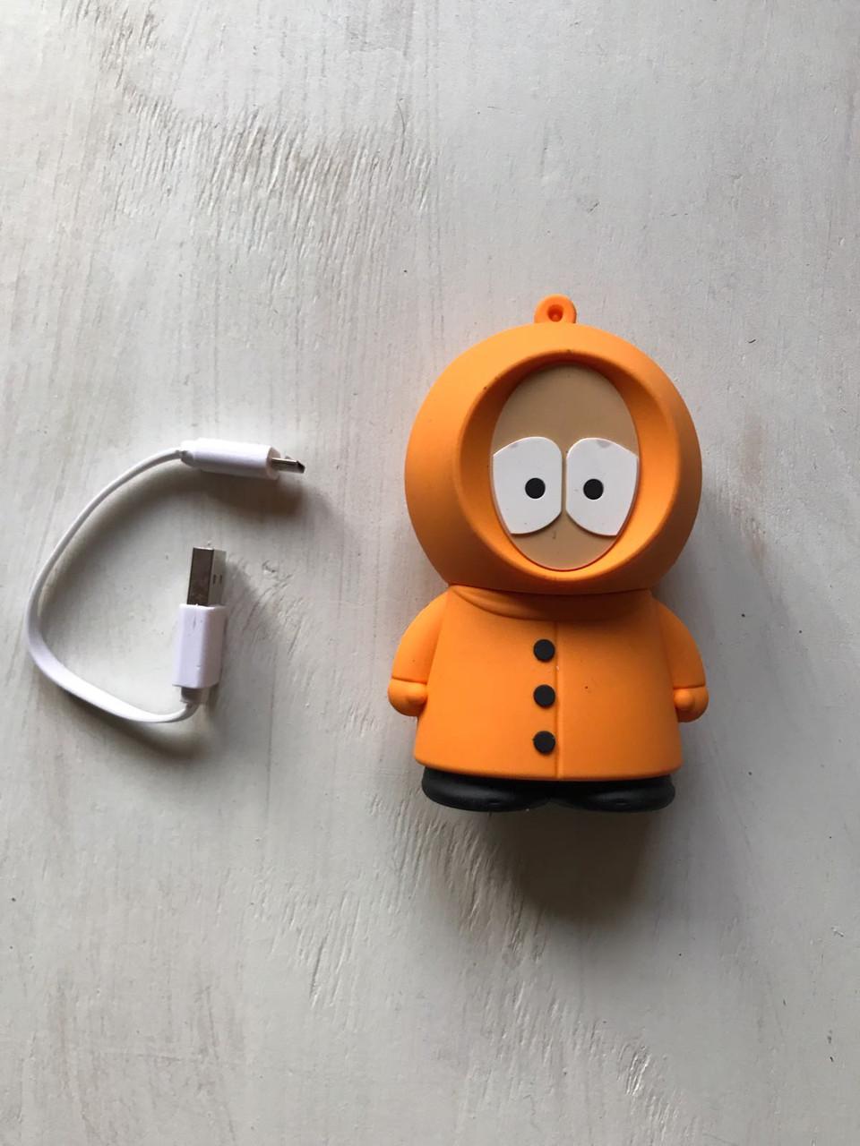 Дополнительный аккумулятор power bank Кенни Маккормик из South Park для телефона 8800 мАч