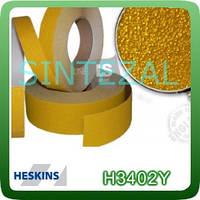 Антискользящая лента Heskins грубой зернистости. 25 мм., Желтый
