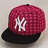 Детская бейсболка с прямым козырьком New york 2033