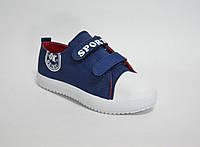 Детские кроссовки джинсовые, фото 1