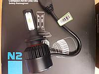 Светодиодные автолампы HB4 CSP chips 8000 lm высококачественное освещение ночью