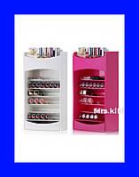 Компактный Органайзер для Хранения Косметики Cosmake Lipstick & Nail Polish Organizer!