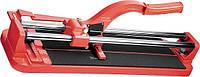 Плиткорез 400 х 16 мм, литая станина, направляющая с подшипником, усиленная ручка MTX