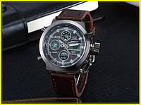 Легендарные мужские часы Gimto Mountain типу AMST Коричневые Новые!