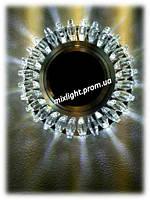 Точечный светильник круг со светодиодной подсветкой Z-Light